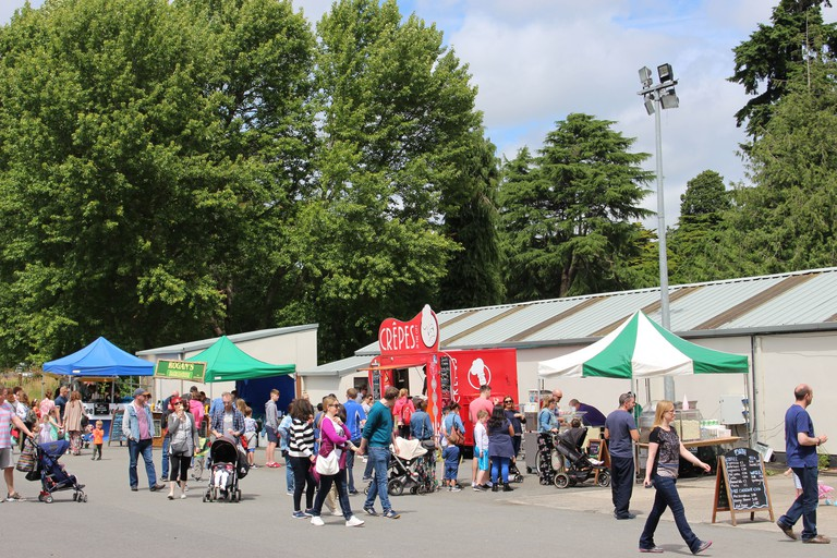 Farmleigh Food and Craft Market takes place throughout the summer