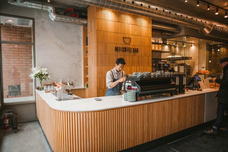 Japanese inspired Neo Coffee Bar