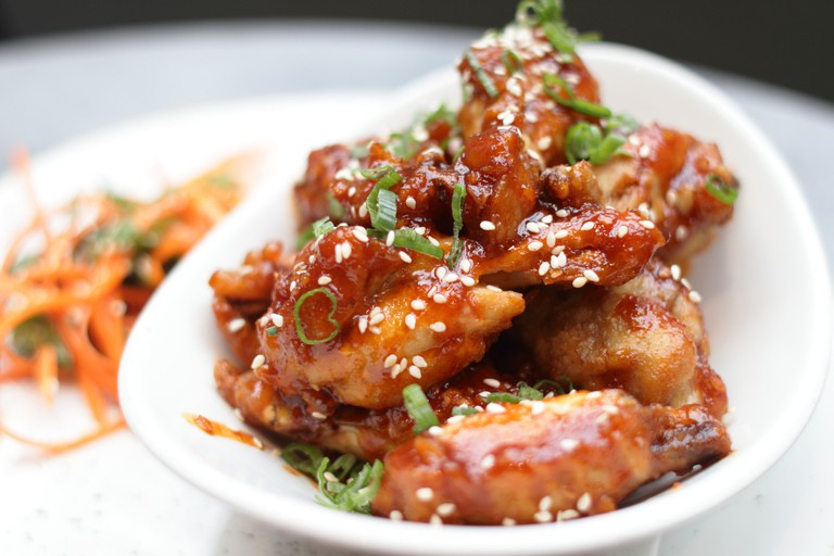 Sticky Chilli Sesame Chicken Wings 2