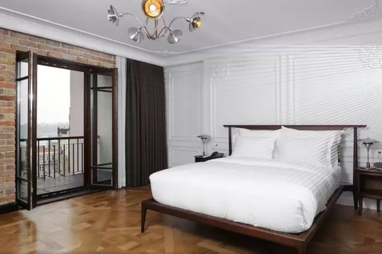The Georges Hotel Galata's rooms are stylish and spacious
