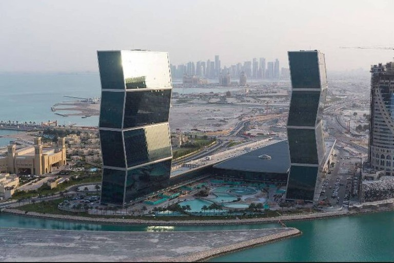 Two bed apartment in Doha's Zig Zag Towers