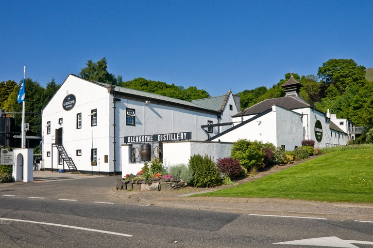 Glengoyne Distillery in Strathblane Dunbartonshire Scotland.
