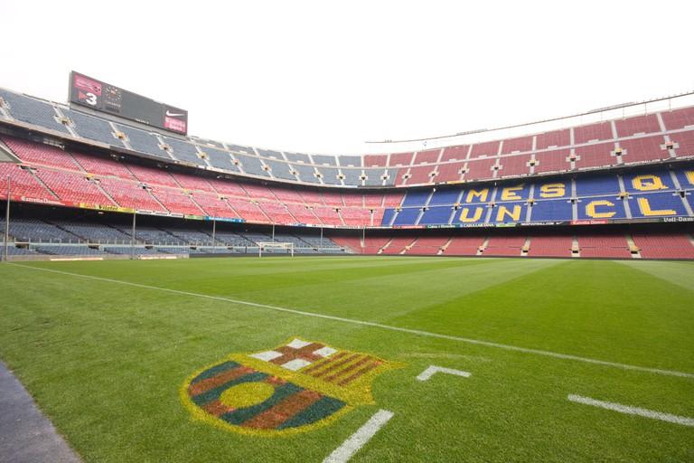 Camp Nou holds nearly 100,000 spectators