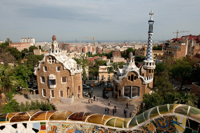 Park Güell is one of Barcelona's most popular attractions