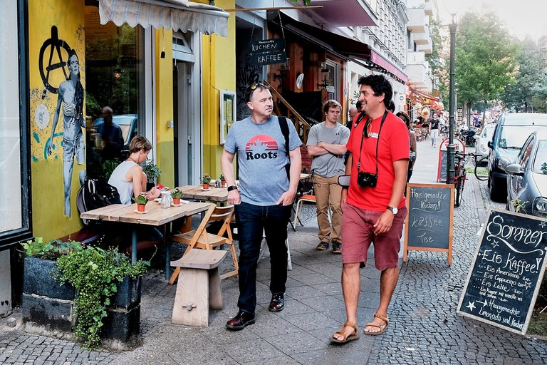 This walking tour takes in the streets of multicultural, vibrant Kreuzberg