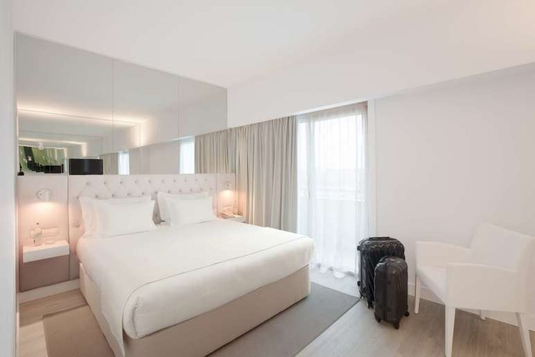 Lutécia Smart Design is a boutique hotel with different themes on each floor