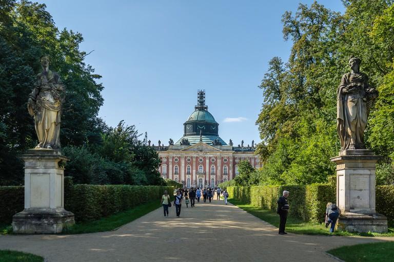Sanssouci Park. Potsdam, Germany.