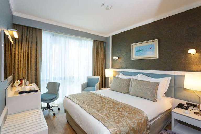 Guest room at ByOtell Hotel Istanbul