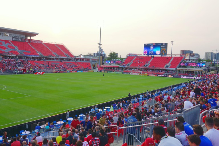 BMO Field stadium in Toronto, Canada