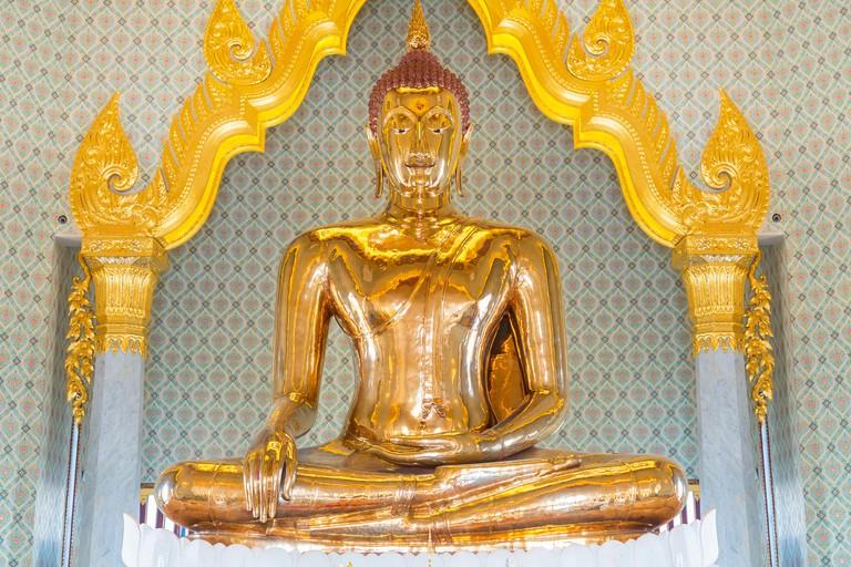 Thailand, Bangkok, Wat Traimit, Temple of the Golden Buddha. Image shot 02/2019. Exact date unknown.