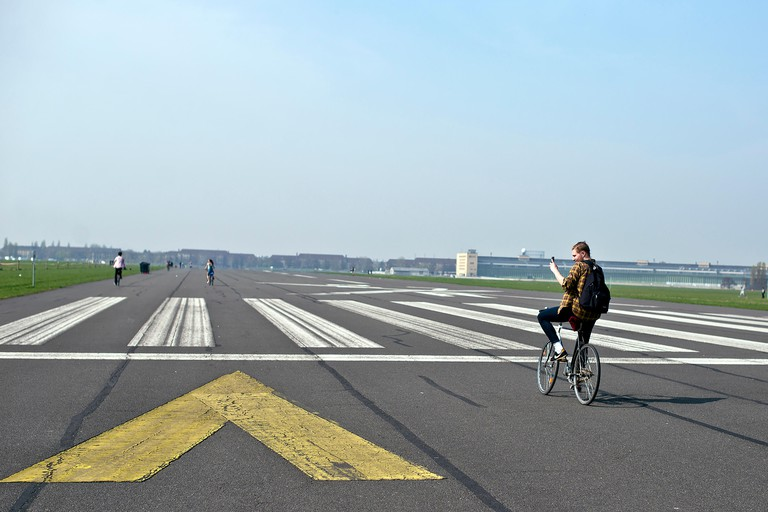 Once an airport, Tempelhof is now one of Berlin's best-loved parks