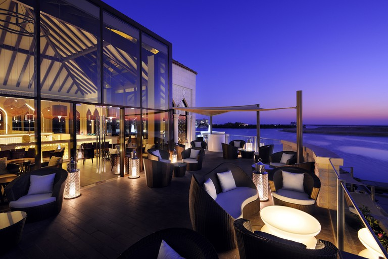 Upper Terrace at Byblos Sur Mer, Abu Dhabi.