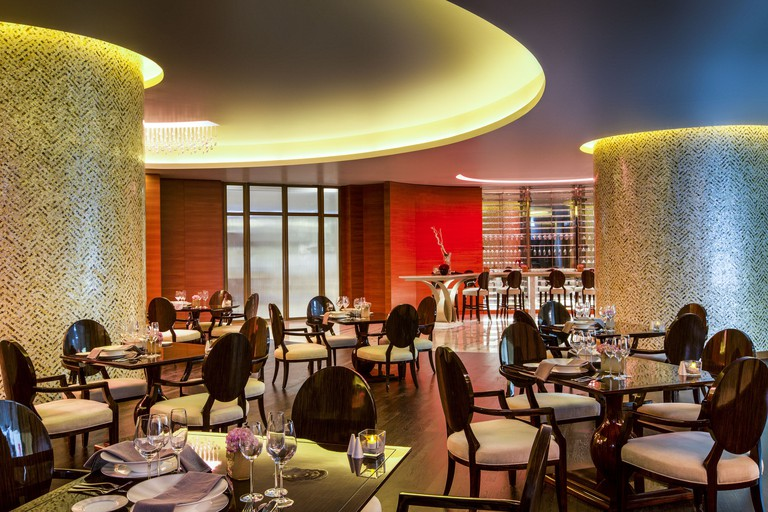 Interior of Limo Restaurant