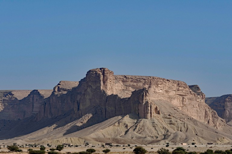 Escarpments southwest of Riyadh, Saudi Arabia. Commonly called The Edge of the World.