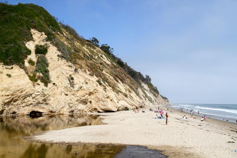 Arroyo Burro Beach, Santa Barbara, California, Usa.