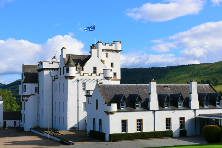 Blair Castle, Atholl, Scotland.