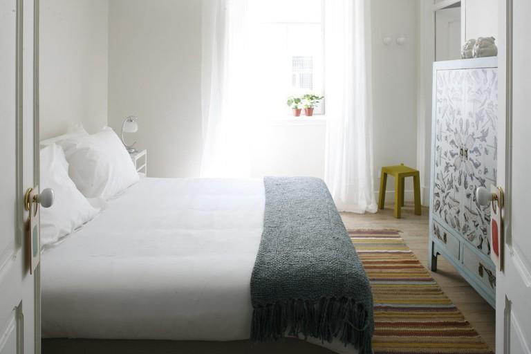 The Casa Das Janelas Com Vista's 12 rooms let in lots of natural light