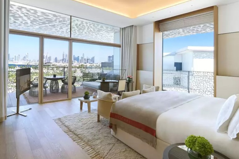 Bulgari Resort Dubai houses 101 rooms and suites