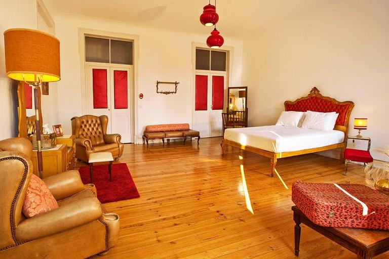 Guest room at Lisbon Calling
