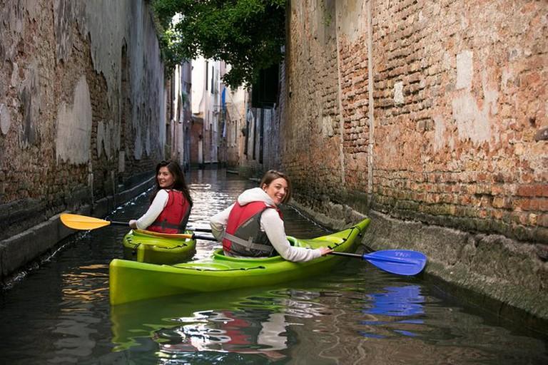 Eco-Friendly Kayak Tour