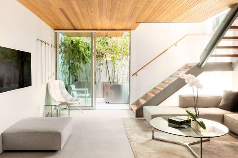 Modern Four-Story Corner Villa