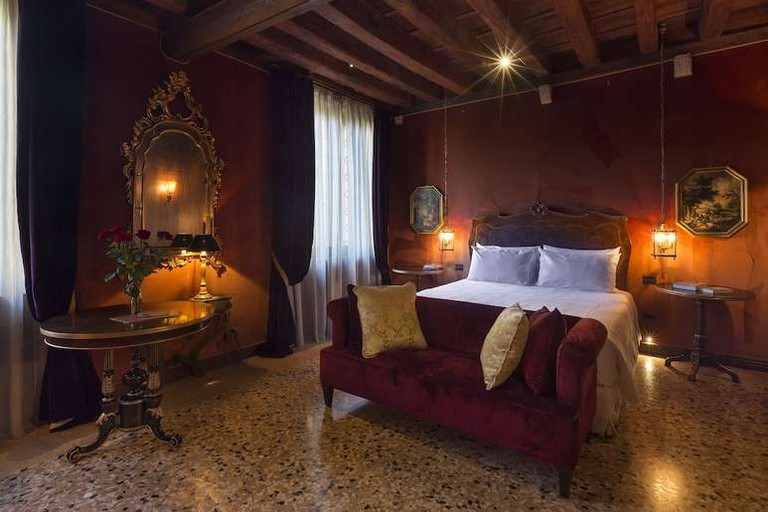 Double room at Palazzo Venart Luxury Hotel