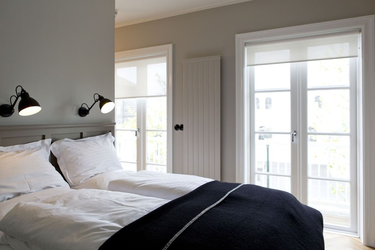 Rooms feature Scandi design elements throughout