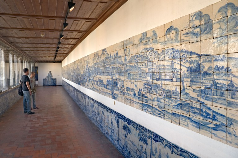 The Museu Nacional do Azulejo is dedicated to azulejos, traditional Portuguese tiles