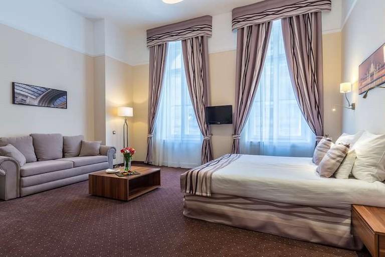 Junior suite at Hotel President