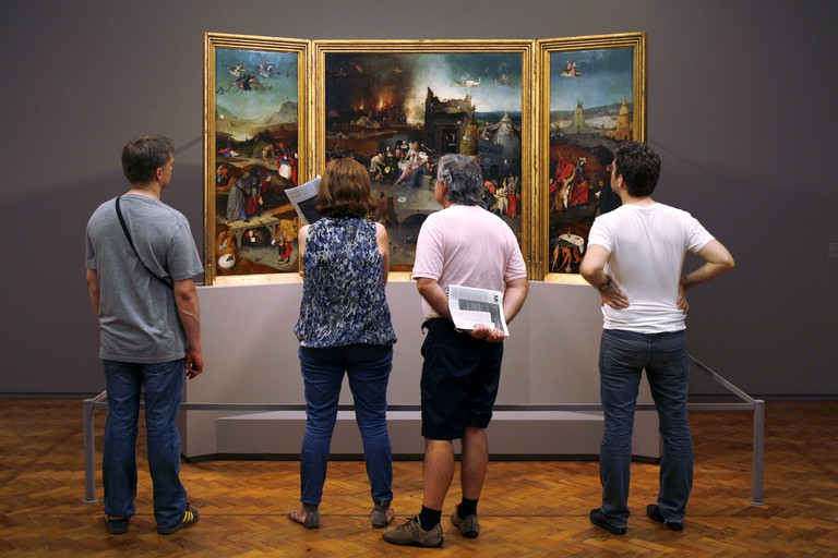 The Museu Nacional de Arte Antiga has over 40,000 pieces in its collection