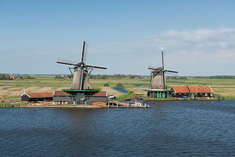 The Zaanse Schans windmills