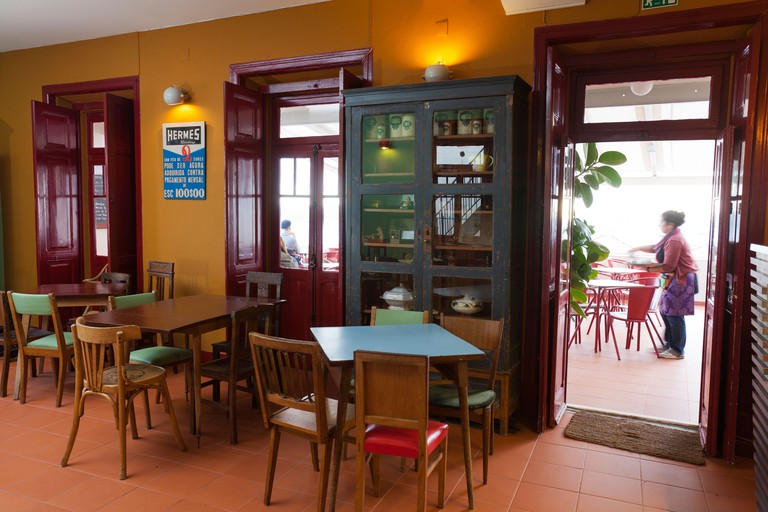 Noobai cafe, Lisbon, Portugal