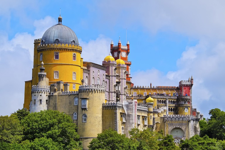 Palacio Nacional de Pena - Pena National Palace in Sintra, Portugal