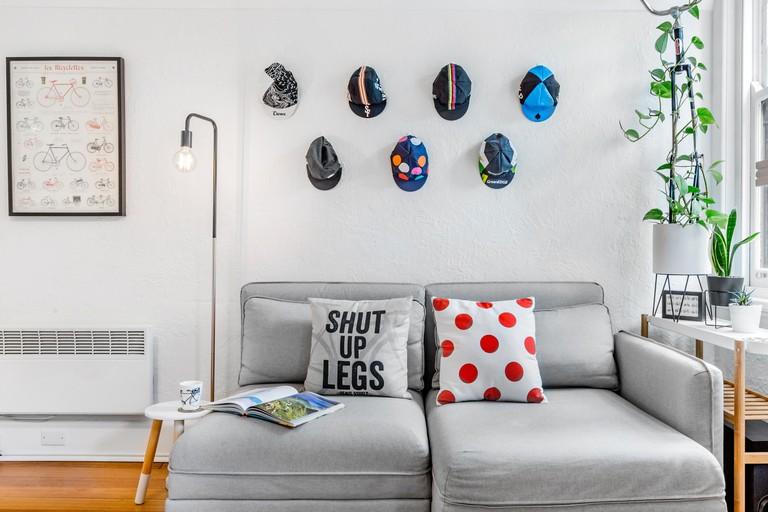 Cyclist's studio in Richmond