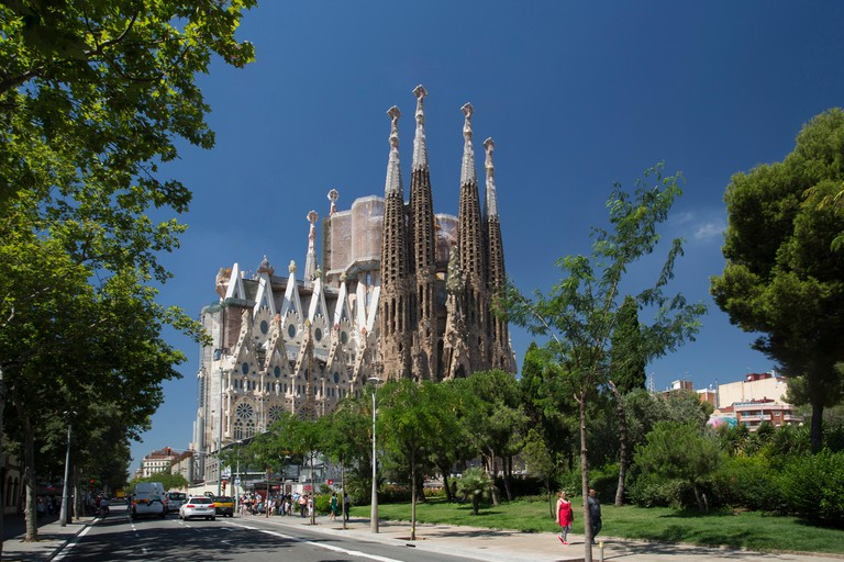 The jaw-dropping Sagrada Família is the city's most famous building