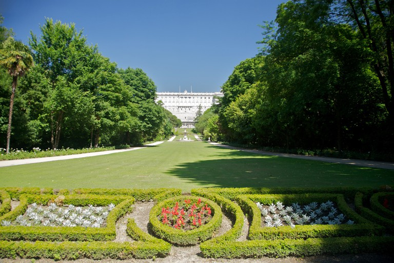 The Campo del Moro is an English-style garden