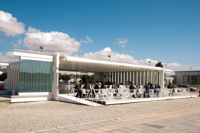 A Margem restaurant and cocktail bar in Belem