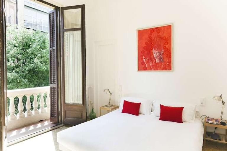 Guest room at La Casa Gran Barcelona