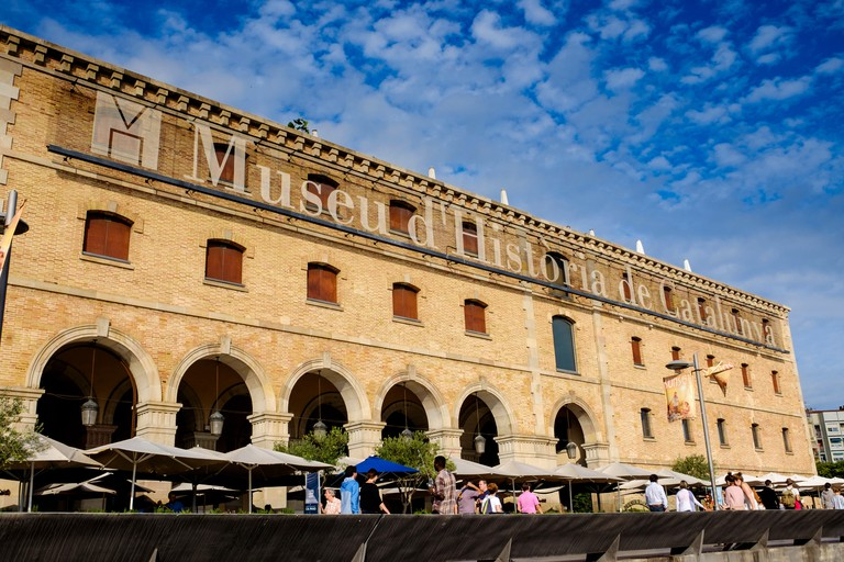 The Museum of Catalonian History, Barcelona, Spain.