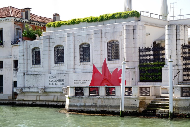Solomon Guggenheim Foundation Grand Canal Venice. Image shot 2016. Exact date unknown.