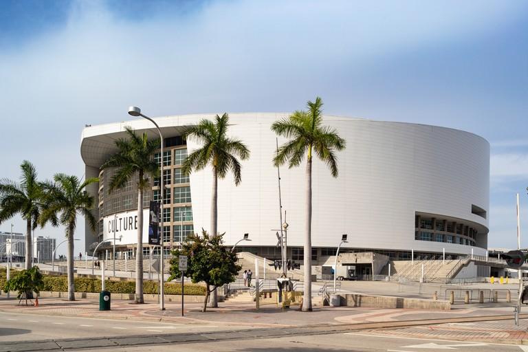 American Airlines Arena, Miami Florida, USA