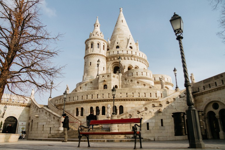 Fishermans Bastion-Budapest-Hungary