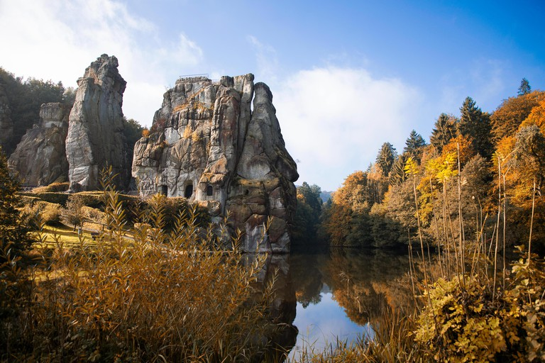 Externsteine in germany