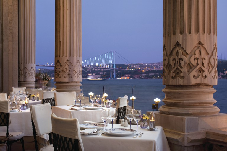 The hotel occupies a palace that was built for Sultan Abdülaziz