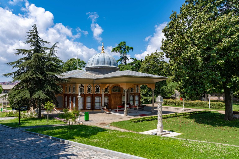 Aynalikavak Pavilion built in the 17th century in Istanbul, Turkey.