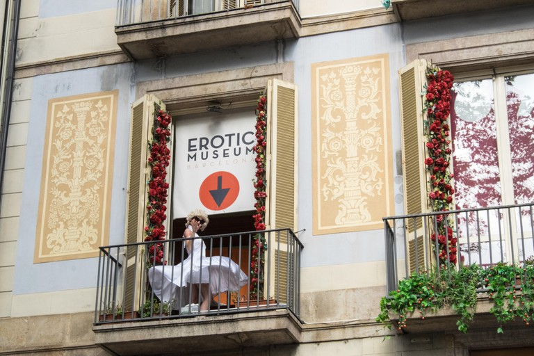 Erotic Museum in Barcelona, Spain.