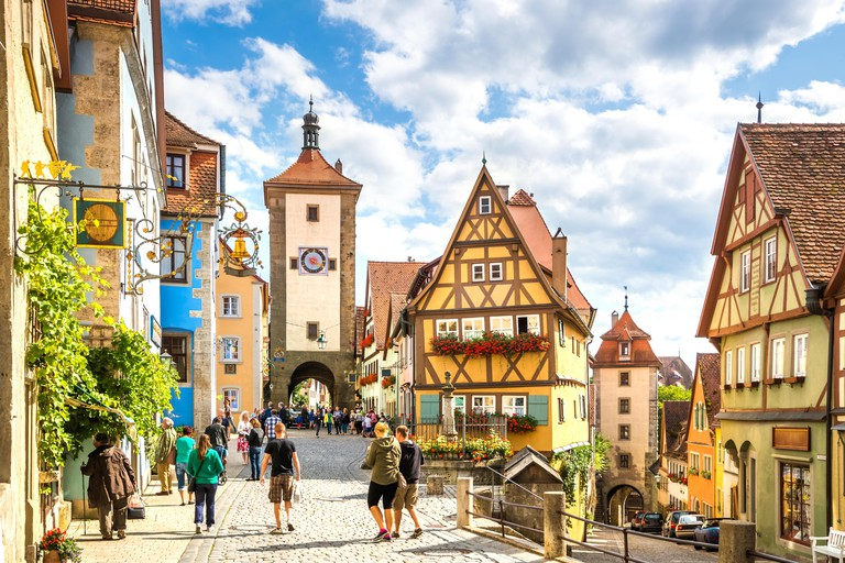 Plonlein, Rothenburg ob der Tauber, Germany