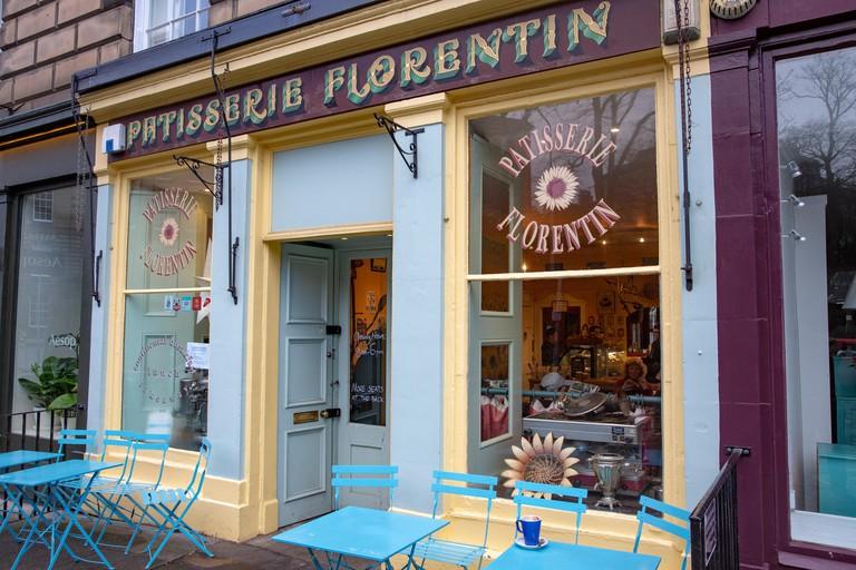Pâtisserie Florentin is a charming little French café