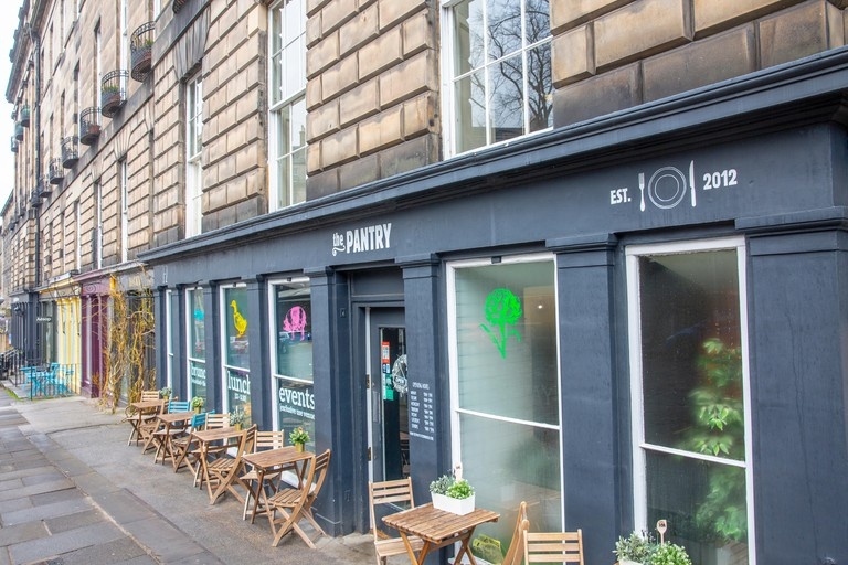 The Pantry exploded onto Edinburgh's culinary scene in 2012