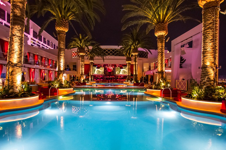 Head to Drai's for pool parties with views of The Strip